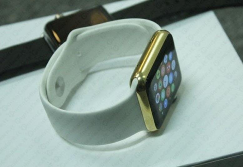 Apple watch placcato oro