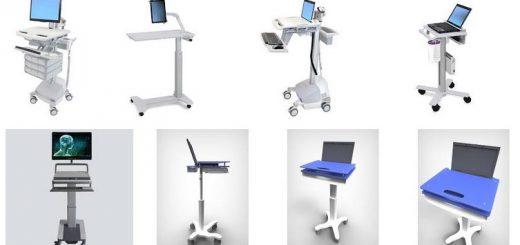 Carrelli medici assortiti