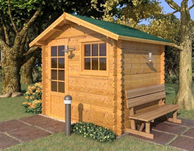 Casetta Giardino In Legno : Casette in legno per il giardino