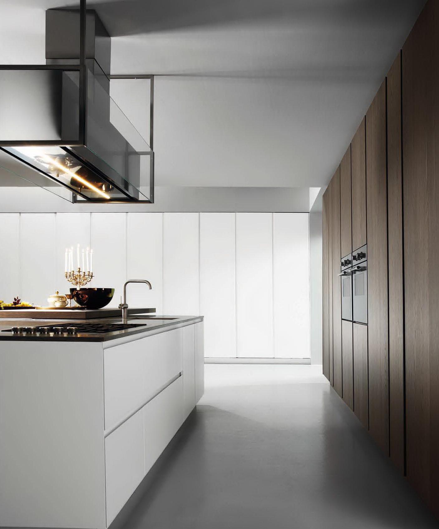 Modulnova: cucine di lusso dall\'aspetto innovativo e minimalista