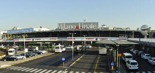 Esterni dell'aeroporto di Linate