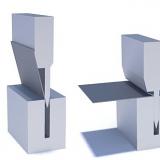 Funzionamento schematico di presse piegatrici