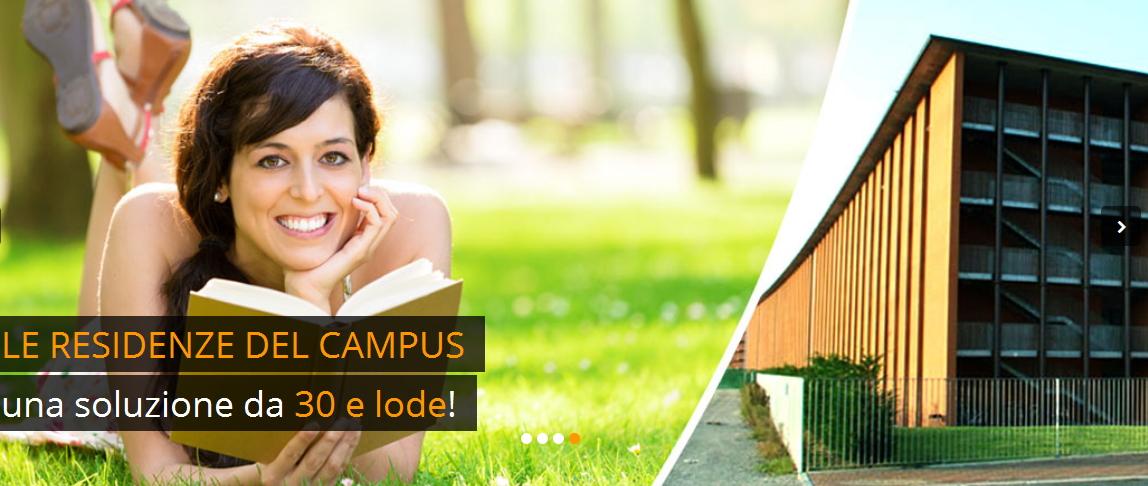 Slider delle Residenze del Campus