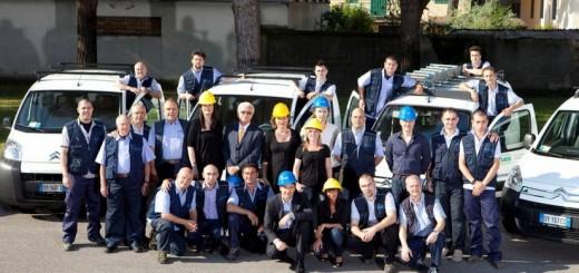Team Arno Manetti al completo