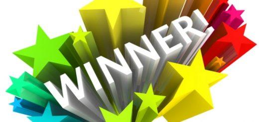 """Scritta """"Winner!"""""""